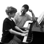 Music School Piano Lesson