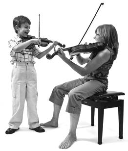 Music School Violin / Triebert